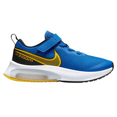 Nike Zoom Arcadia Kids Running Shoes Blue/Yellow US 11, Blue/Yellow, rebel_hi-res