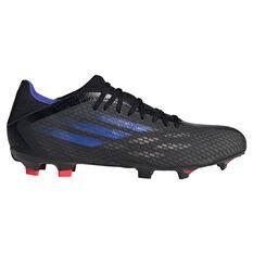 adidas X Speedflow .3 Football Boots Black/Pink US Mens 4 / Womens 5, Black/Pink, rebel_hi-res