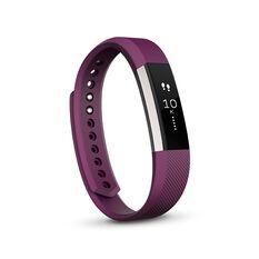 Fitbit Alta Fitness Wristband Plum S, Plum, rebel_hi-res