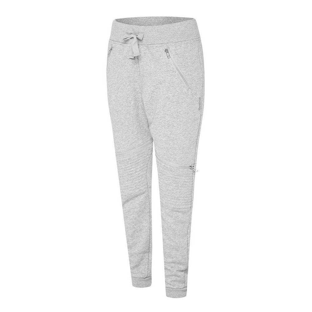 50f379c3a46338 Reebok Womens Knit Moto Training Pants Grey M Adult