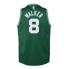 Nike Boston Celtics Kemba Walker 2019/20 Youth Icon Edition Swingman Green S, Green, rebel_hi-res