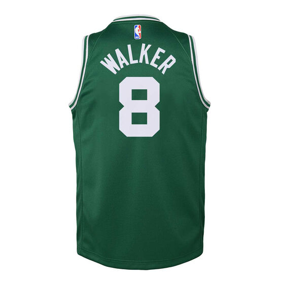 Nike Boston Celtics Kemba Walker 2019/20 Youth Icon Edition Swingman Green M, Green, rebel_hi-res