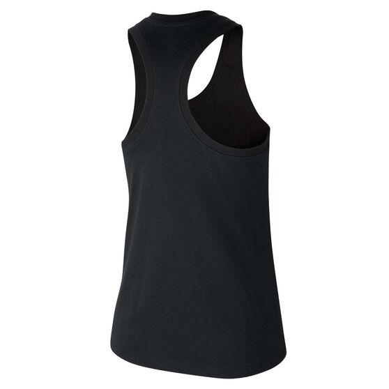 Nike Air Womens Sportswear Tank, Black, rebel_hi-res