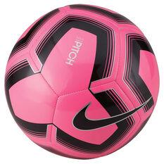 Nike Pitch Training SP19 Soccer Ball Pink / Black 3, Pink / Black, rebel_hi-res