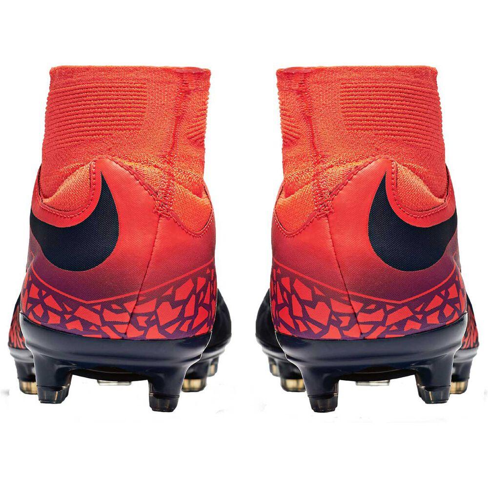 bb0f727cd Nike Hypervenom Phatal II Dynamic Fit Mens Football Boots Red / grey US 9  Adult,