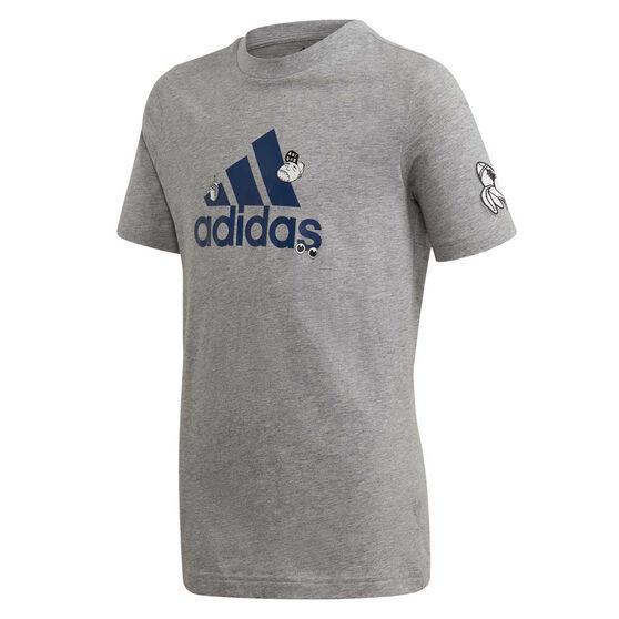 adidas Boys Collegiate Tee, , rebel_hi-res