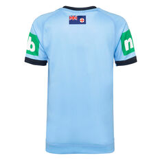 NSW Blues State of Origin 2020 Kids Home Jersey Blue 8, Blue, rebel_hi-res