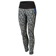 adidas Womens Believe This 7/8 Tights Grey XS, Grey, rebel_hi-res