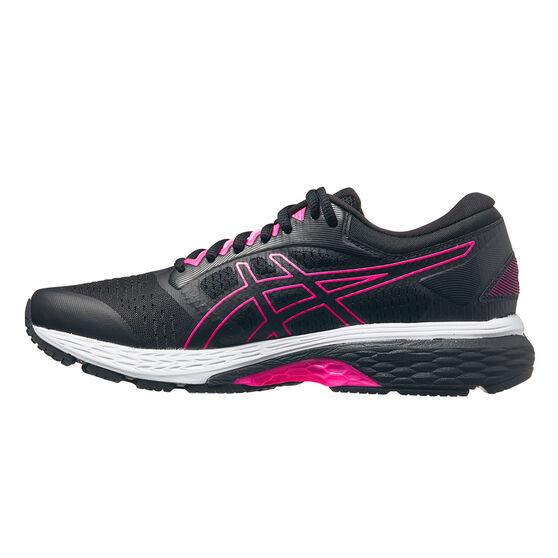 Asics GEL Superion 4 Womens Running Shoes, Black/Grey, rebel_hi-res