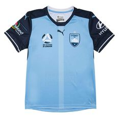 Sydney FC 2018 Kids Home Jersey, , rebel_hi-res