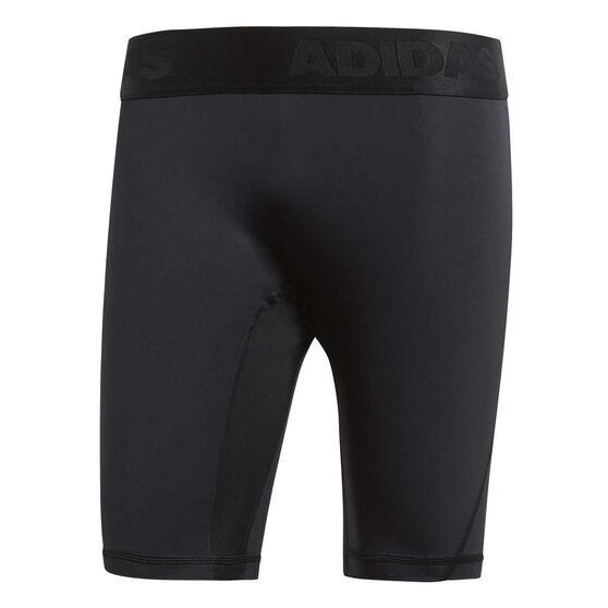 adidas Mens Alphaskin Sport Short Tights Black S, Black, rebel_hi-res