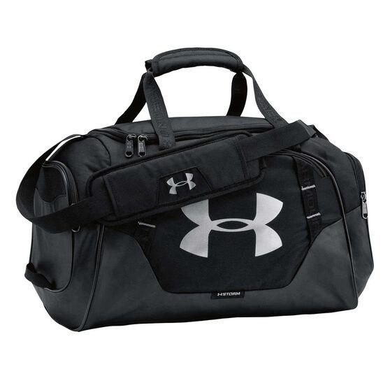 6de5674659ea Under Armour Undeniable 3.0 Extra Small Grip Bag Black   Silver ...