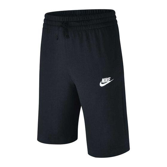Nike Sportswear Boys Shorts, Black / White, rebel_hi-res