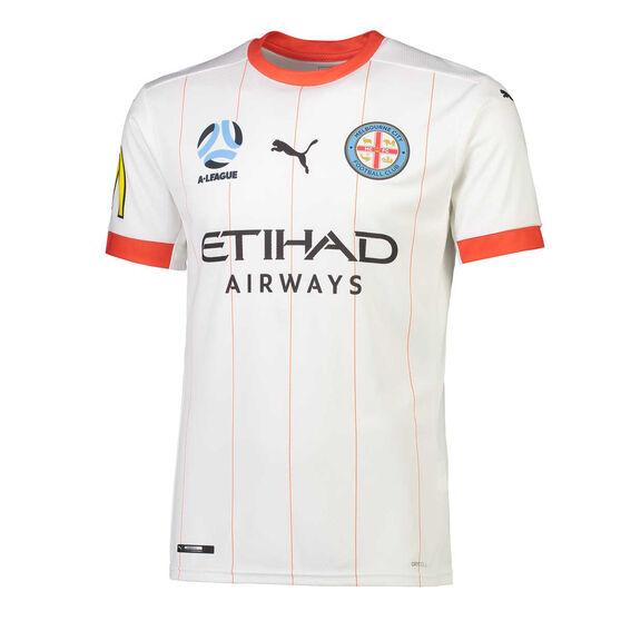 Melbourne City FC 2020/21 Mens 3rd Jersey, White, rebel_hi-res