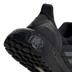 adidas Ultraboost 20 Kids Running Shoes, Black, rebel_hi-res
