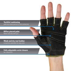 Harbinger Flexfit Glove Green S, Green, rebel_hi-res