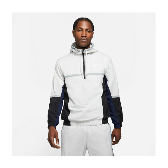 Nike Mens Sportswear Hooded Woven Jacket, , rebel_hi-res