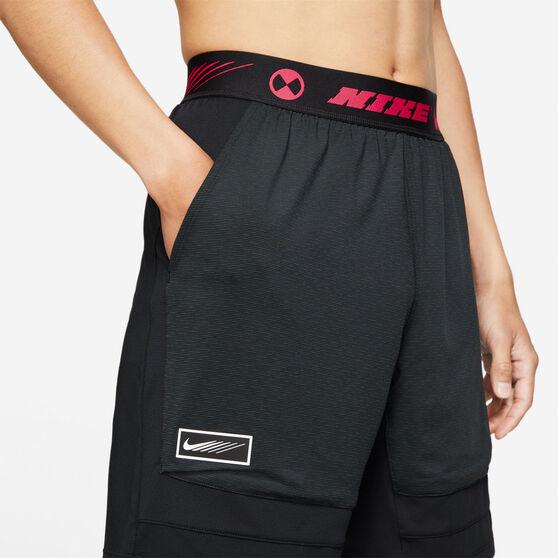 Nike Mens Sports Clash Shorts, Black, rebel_hi-res