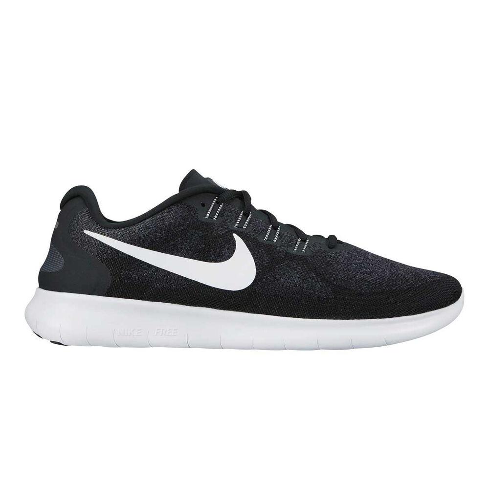 online store 4d6d6 847cc Nike Free Run 2 Womens Running Shoes Black   White US 7, Black   White