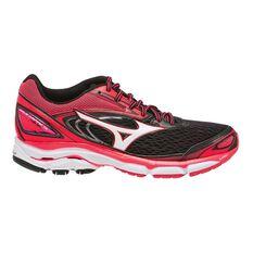 Mizuno Wave Inspire 13 Womens Running Shoes Black / White US 6, Black / White, rebel_hi-res