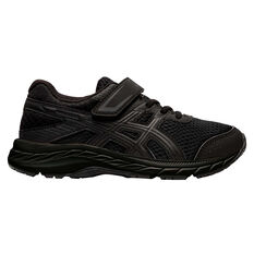 Asics GEL Contend 6 Kids Running Shoes Black US 11, Black, rebel_hi-res