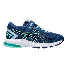 Asics GT 1000 9 Kids Running Shoes Blue US 11, Blue, rebel_hi-res