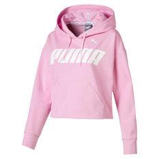 Puma Womens Modern Sports Hoodie Pink XS, Pink, rebel_hi-res