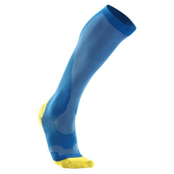 2XU Mens Performance Run Compression Socks, , rebel_hi-res