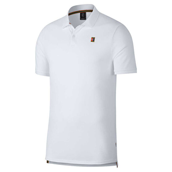 Nike Mens Court Tennis Polo Shirt, White, rebel_hi-res