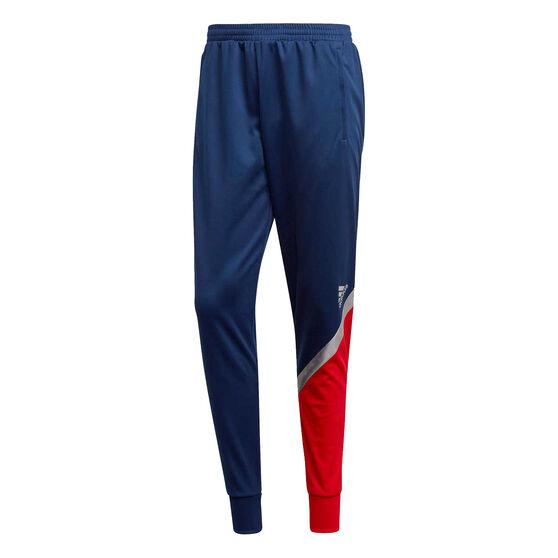 adidas Mens TAN Club Home Football Track Pants, Navy, rebel_hi-res