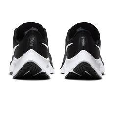 Nike Air Zoom Pegasus 37 Kids Running Shoes, Black / White, rebel_hi-res