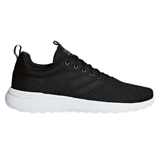 adidas Cloudfoam Lite Racer Mens Casual Shoes, Black / Black, rebel_hi-res