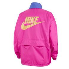 Nike Womens Icon Clash Jacket Pink XS, Pink, rebel_hi-res