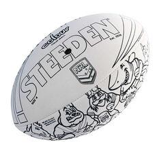 Steeden NRL Colour In Ball, , rebel_hi-res