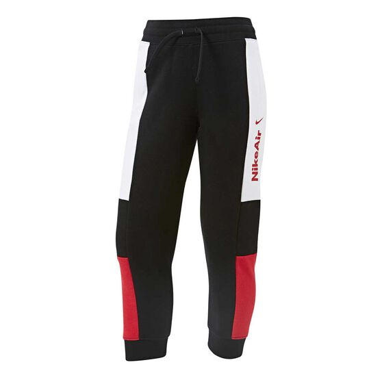 Nike Boys Air Pants, Black / White, rebel_hi-res