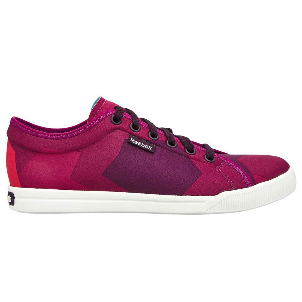 85d44f7625a1 Reebok Skyscape Runaround 2.0 Womens Casual Shoes Purple   Red US 6 ...