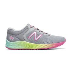 New Balance Fresh Foam Arishi Kids Training Shoes Grey US 11, Grey, rebel_hi-res