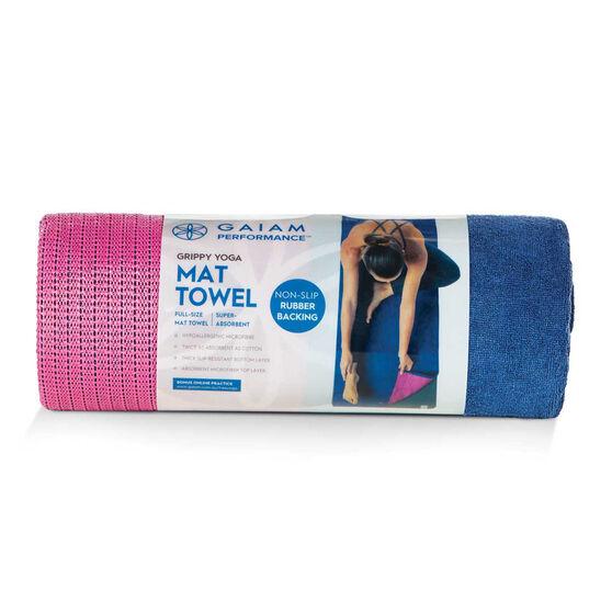 Gaiam Grippy Yoga Mat Towel, , rebel_hi-res