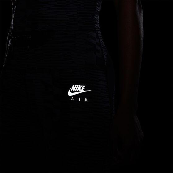 Nike Air Womens Epic Fast 7/8 Printed Running Tights, Black, rebel_hi-res