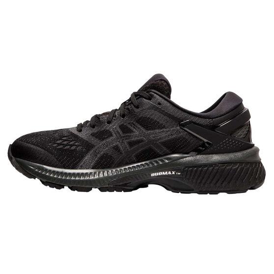Asics GEL Kayano 26 Womens Running Shoes Black US 10, Black, rebel_hi-res