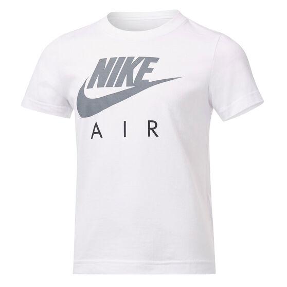 Nike Boys Futura Air Tee, White, rebel_hi-res