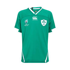 Ireland 2019 Kids Rugby World Cup Home Jersey Green 6, Green, rebel_hi-res