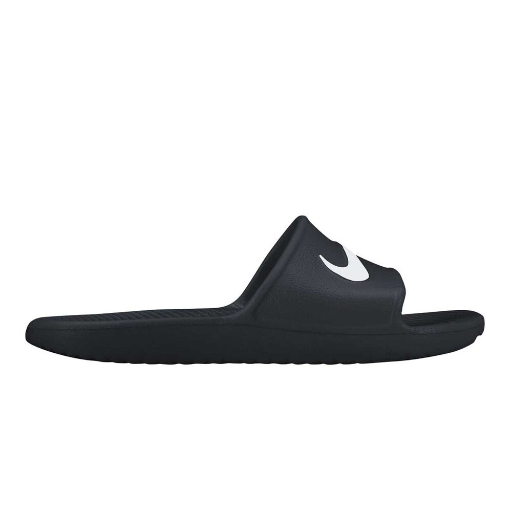 8d3a472b37e0 Nike Kawa Shower Mens Slides Black   White US 9