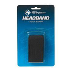 Signature Sports Headband Black OSFA, , rebel_hi-res