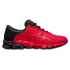 Asics GEL Quantum 360 5 Jacquard Mens Training Shoes Red/Black US 7, Red/Black, rebel_hi-res