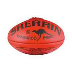 Sherrin KB Australian Rules Ball Red 4, , rebel_hi-res