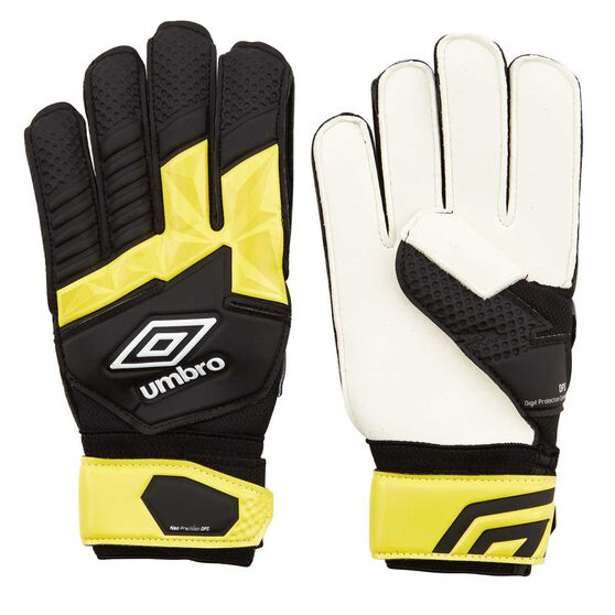 Rebel Sport Inner Gloves: Umbro Neo Precision DPS Kids Soccer Goal Keeping Gloves