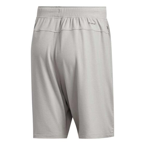 adidas Mens Urban Global Training Shorts, Grey, rebel_hi-res