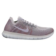 Nike Free Run Flyknit 2017 Womens Running Shoes Beige / Rose US 6, Beige / Rose, rebel_hi-res