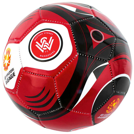 A League Western Sydney Wanderers Supporter Soccer Ball, , rebel_hi-res